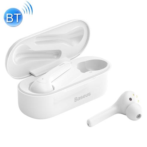Baseus Encok W07 Bluetooth 5.0 Wireless Bluetooth Earphone(White)