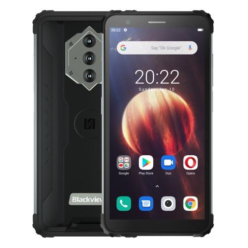Blackview BV6600 Dual Sim Rugged Phone 64GB Black (4GB RAM)