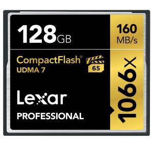 Lexar 128GB Professional 1066x CF (UDMA 7)