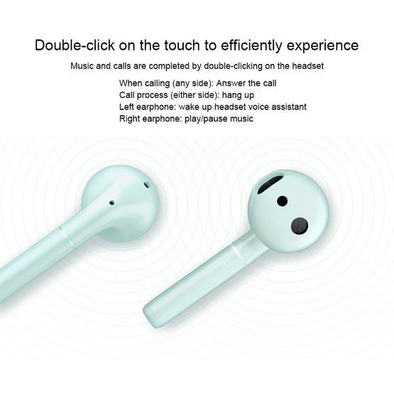 Huawei Honor FlyPods Waterproof Wireless In-ear Bluetooth Headset (Green) - Standard Edition
