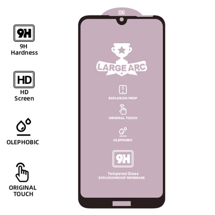 (25 pcs/Set) 9H HD Large Arc High Alumina Full Screen Tempered Glass Film for Galaxy S10e