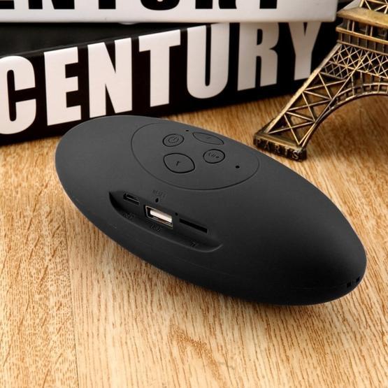 Mini Bluetooth Speaker Portable Wireless Speaker Sound System 3D Stereo Music Surround TF USB Super Bass Column Acoustic System(white)