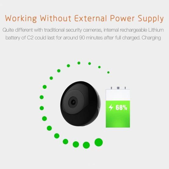 Wireless IP Camera, CAMSOY C2 Intelligent Bluetooth Monitor HD Night Vision WIFI Remote Monitor Camera
