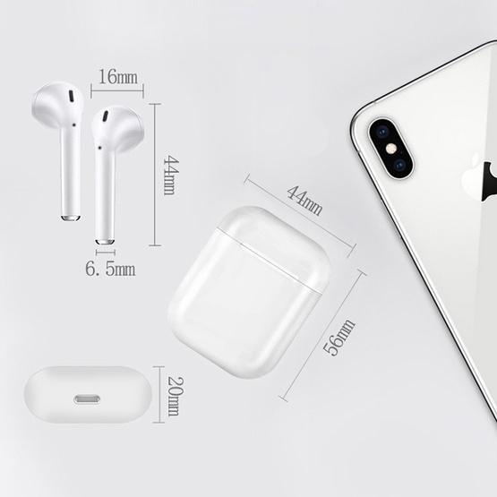 i18 Wireless Sport Bilateral Stereo Bluetooth 5.0 Headset(Green Lake)