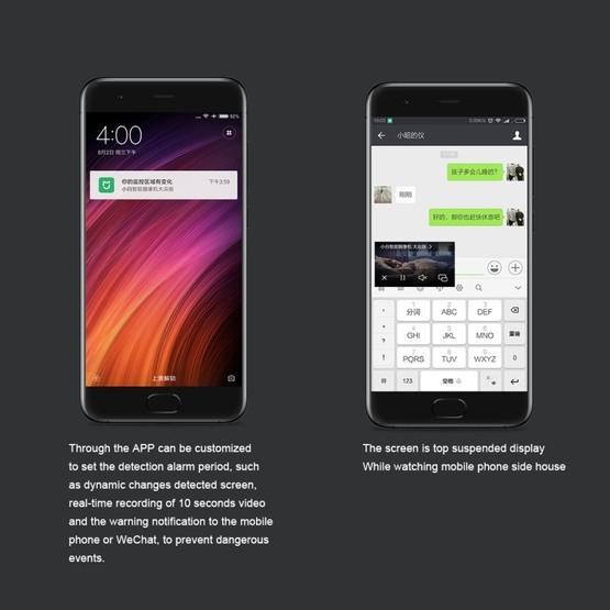 Original Xiaomi Mijia Xiaobai WiFi Infrared Smart Home IP Camera