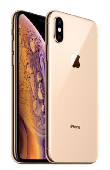 apple iphone xs max 256gb gold dual sim