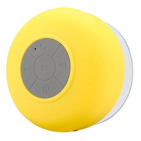 BTS-06 Mini Waterproof IPX4 Bluetooth V2.1 Speaker (Yellow)