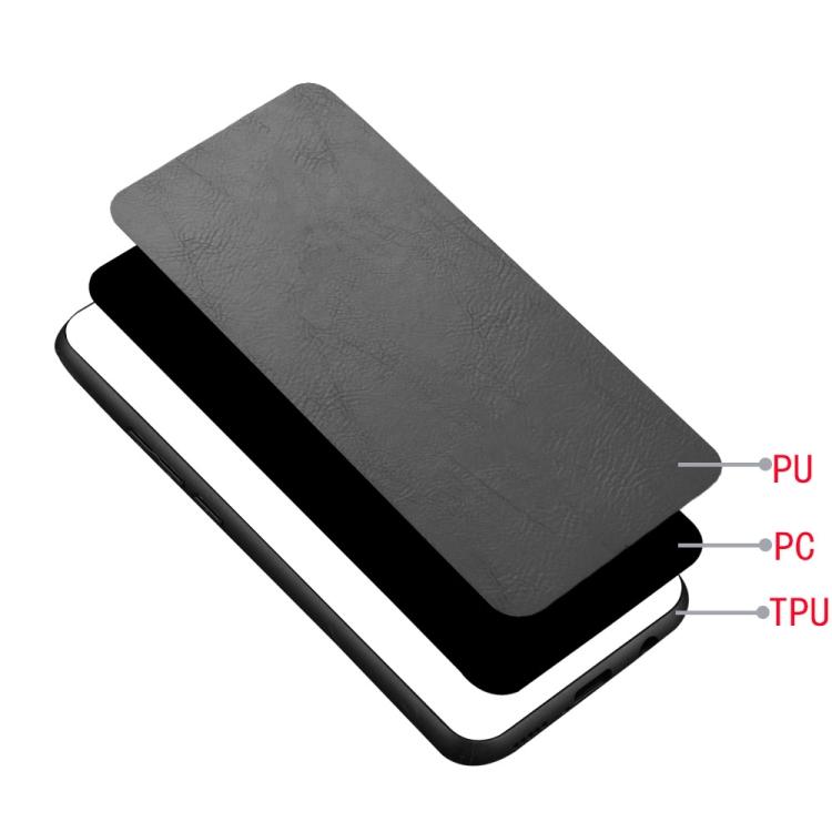 Shockproof Sewing Cow Pattern Skin PC + PU + TPU Case for Xiaomi Poco F2 Pro/Xiaomi Redmi K30 Pro (Black)