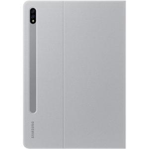 Samsung Galaxy Tab S7 Book Cover Light Gray