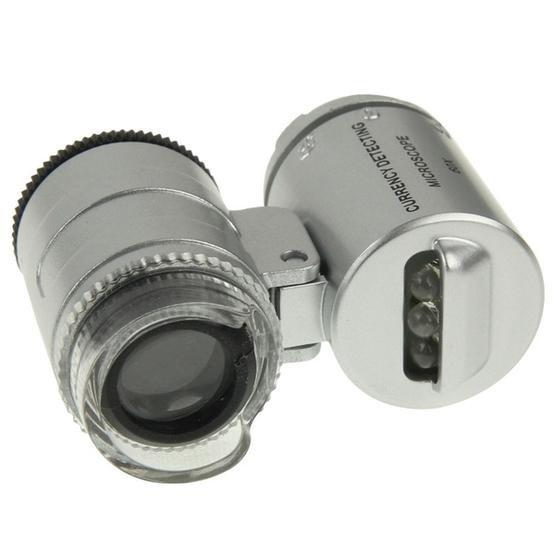 Universal Clip-type LED phone 60X Microscope / Micro Lens