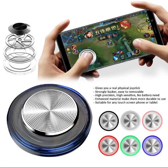 Q8plus Mobile Phone Game King Glory Game Handle Sucker Rocker Game Assist Tools (Green)