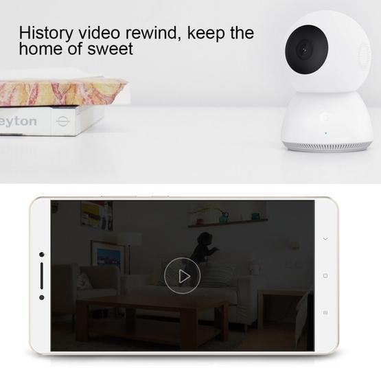 Original Xiaomi MIJIA Xiaobai Smart Home Security Camera (White)