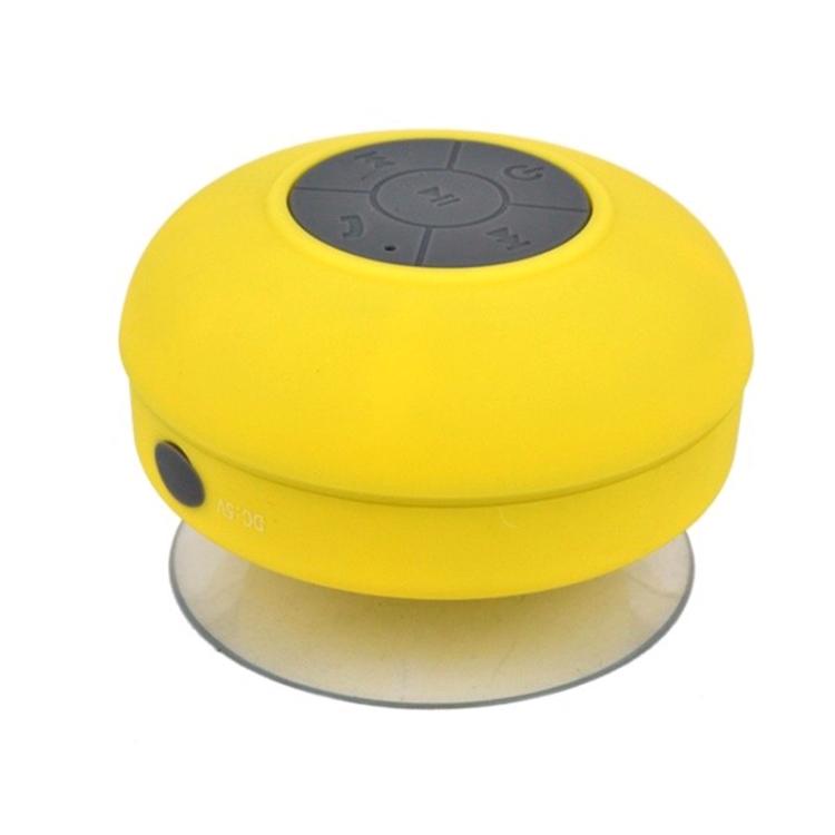 Mini Portable Subwoofer Shower Wireless Waterproof Bluetooth Speaker (Blue)