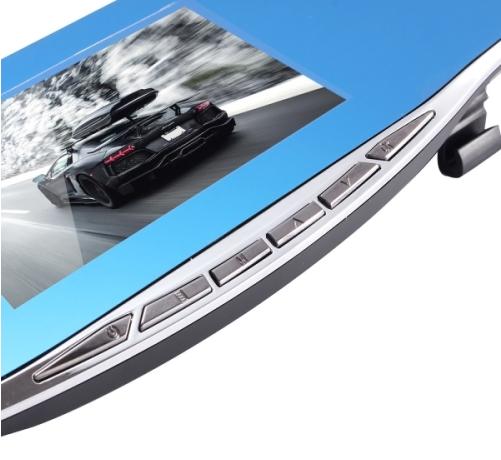 Car DVR - G835 HD 1080P 4.3 inch Screen Display Rearview Mirror