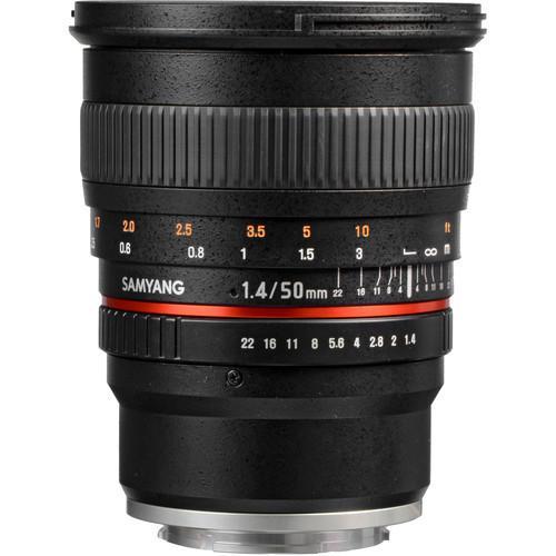 Samyang 50mm f/1.2 AS UMC CS (Sony E)